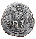 """Pashiz / Unit / Chalkous - """"kushansha"""" Shapur I (under Ardashir I) – reverse"""