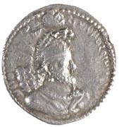 """Drachm - """"kushansha"""" Hormizd I (under Shapur I) – obverse"""