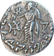 Drachm - Azes II (North Chach mint) -  reverse