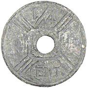 ¼ Centime -  reverse