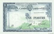 1 Piastre (Laos Issue) – obverse