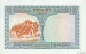 1 Piastre (Laos Issue) – reverse