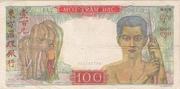 100 Piastres -  reverse