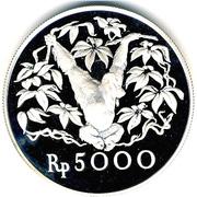 5000 Rupiah (Orangutan) -  obverse
