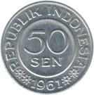 50 Sen – obverse