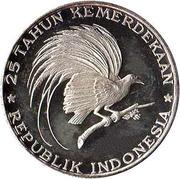 200 Rupiah (Great Bird of Paradise) – reverse