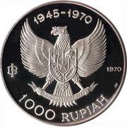 1000 Rupiah (General Sudirman) – obverse