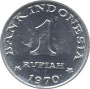 1 Rupiah – reverse