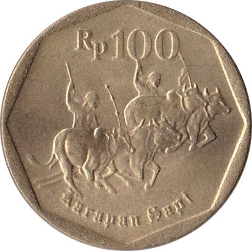 100 Rupiah - Indonesia – Numista