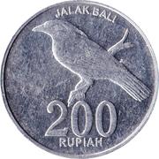 200 Rupiah -  reverse