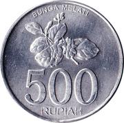 500 Rupiah -  reverse