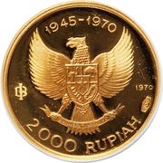 2000 Rupiah (Great Bird of Paradise) – obverse