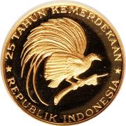 2000 Rupiah (Great Bird of Paradise) – reverse