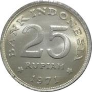 25 Rupiah – reverse