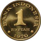 1 Rupiah (Pattern) – reverse