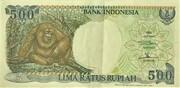 500 Rupiah – obverse