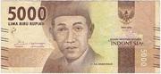 5,000 Rupiah – obverse