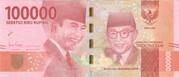 100,000 Rupiah – obverse