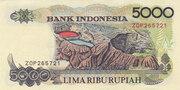 5 000 Rupiah – reverse