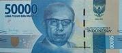 50,000 Rupiah – obverse
