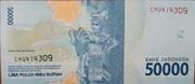 50,000 Rupiah -  reverse