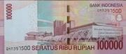 100,000 Rupiah – reverse