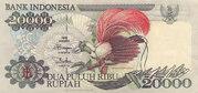 20 000 Rupiah – obverse