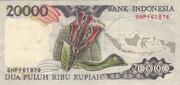 20 000 Rupiah – reverse