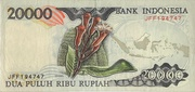 20,000 Rupiah (with security thread) – reverse