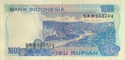 1,000 Rupiah – reverse