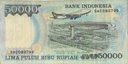 50,000 Rupiah – reverse