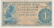 1 Gulden/Roepiah – obverse