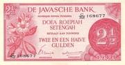 2½ Roepiah/Gulden – obverse