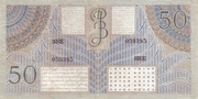 50 Gulden/Roepiah – reverse