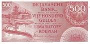 500 Gulden/Roepiah – obverse