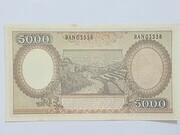 5000 Rupiah – reverse