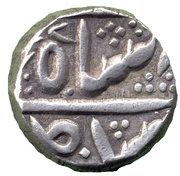 ½ Rupee - Shah Alam II -  obverse