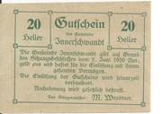 20 Heller (Innerschwandt) – obverse