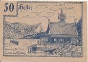 50 Heller (Innerschwandt) – reverse