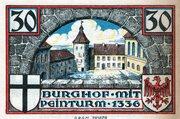 30 Pfennig (Sparkasse) – reverse