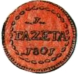 1 Gazetta – reverse