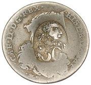 50 Para - George III – obverse