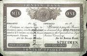1 Pound Sterling - Cephalonia - Ionian Bank / Ioniki Trapeza Bank / – obverse