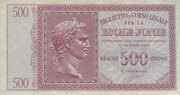500 Drachmai - Italian Occupation of the Ionian Islands – obverse