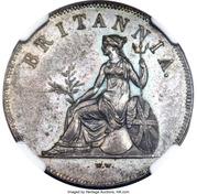 1 Obol - George III (Trial Strike) – reverse