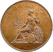 1 Obol - George III – reverse