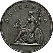 2 Oboli - George III – reverse
