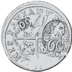 60 Paras - George III – obverse
