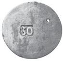 50 Para - George III – reverse
