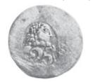 25 Paras - George III – obverse